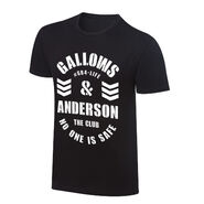 Gallows and Anderson No One Is Safe Vintage T-Shirt