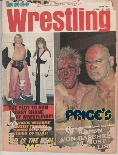 Inside Wrestling - June 1972