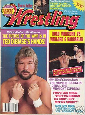 Inside Wrestling - May 1988