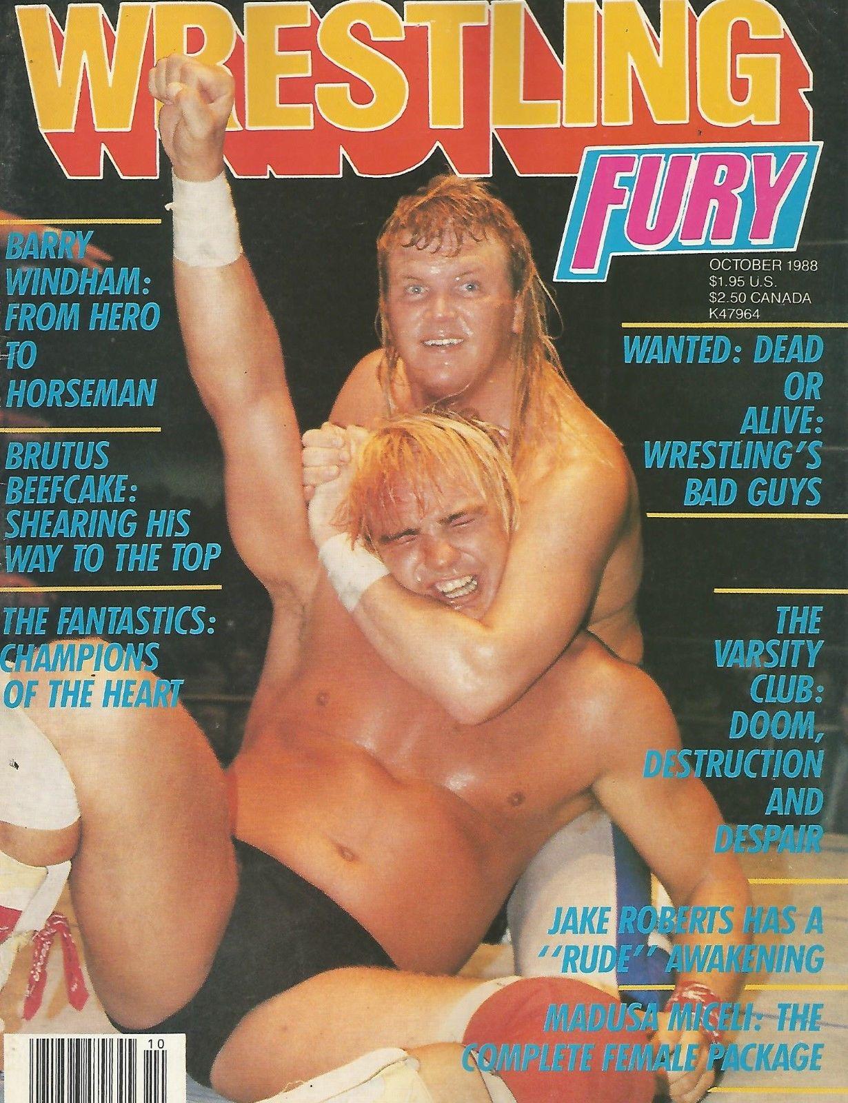 Wrestling Fury - October 1988
