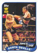 2018 WWE Heritage Wrestling Cards (Topps) Sonya Deville 76