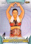 2019 WWE Women's Division (Topps) Shayna Baszler 89