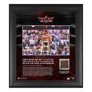 Drew McIntyre TLC 2020 15 x 17 Commemorative Plaque