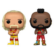 Hulk Hogan & Mr. T POP! Vinyl Figure 2-Pack