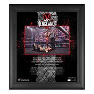Io Shirai NXT TakeOver Vengeance Day 15x17 Commemorative Plaque