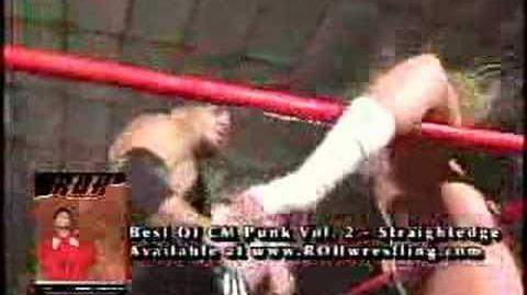 """ROH GOLD """"Vaulted Classics"""" CM Punk vs"""