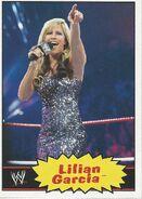 2012 WWE Heritage Trading Cards Lilian Garcia 25