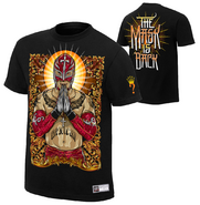 Rey Mysterio The Mask is Back Men's Authentic T-Shirt