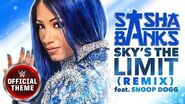 Sasha Banks - Sky's the Limit (Remix) Entrance Theme feat