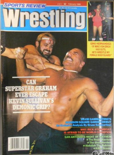 Sports Review Wrestling - February 1985