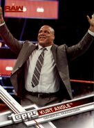 2017 WWE (Topps) Then, Now, Forever Kurt Angle 126