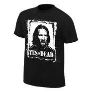 Daniel Bryan Yes is Dead Authentic T-Shirt