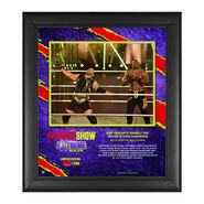 MVP The Horror Show At Extreme Rules 2020 15x17 Commemorative Limited Edition Plaque