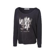 WrestleMania 34 WM Women's Black Sweatshirt