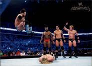 2011 Topps WWE Champions Wrestling Wade Barrett 57