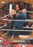 2017 WWE Road to WrestleMania Trading Cards (Topps) Undertaker 44