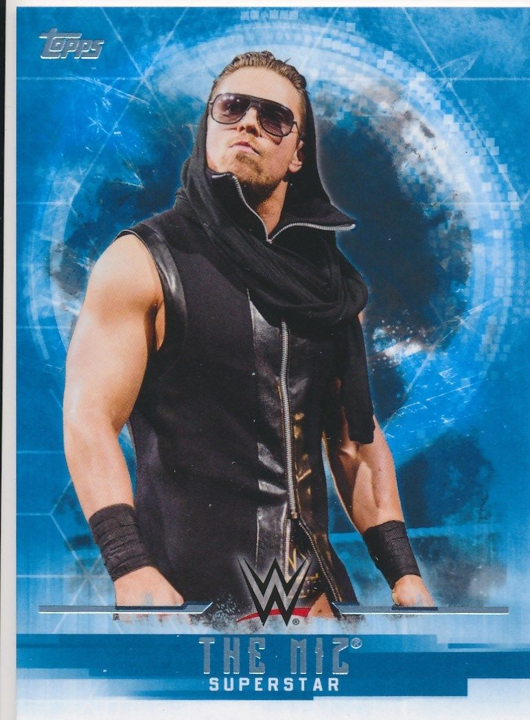 2017 WWE Undisputed Wrestling Cards (Topps) The Miz (No.25)
