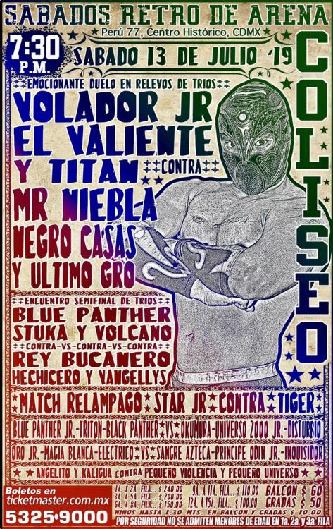 CMLL Sabados De Coliseo (July 13, 2019)