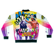Macho Man Randy Savage Retro Fanimation Chalk Line Jacket