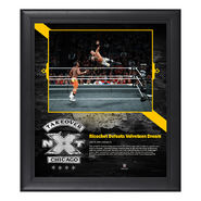 Ricochet NXT TakeOver Chicago 15 x 17 Framed Plaque w Ring Canvas