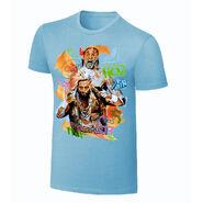 Enzo & Big Cass Rob Schamberger Art Print T-Shirt
