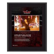 Randy Orton TLC 2020 10x13 Commemorative Plaque
