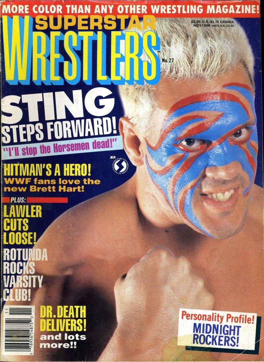 Superstar Wrestlers - November 1988