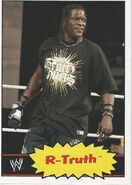 2012 WWE Heritage Trading Cards R-Truth 30
