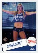 2015 WWE Heritage Wrestling Cards (Topps) Charlotte 104