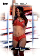 2017 WWE Women's Division (Topps) Nikki Bella 34