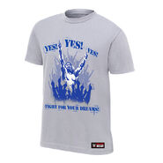 Daniel Bryan Fight For Your Dreams Authentic T-Shirt