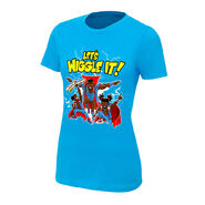 The New Day Let's Wiggle It Women's Authentic T-Shirt