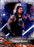 2017 WWE Road to WrestleMania Trading Cards (Topps) Roman Reigns 43