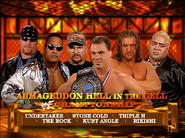 6-Man Hell in a Cell Armageddon 2000