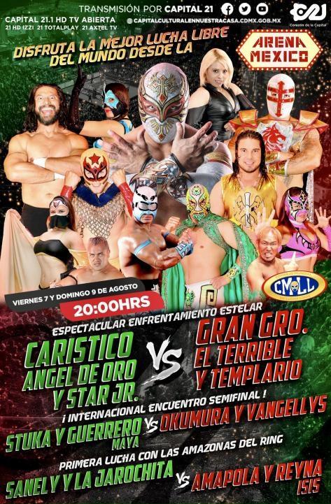 CMLL (August 7, 2020)