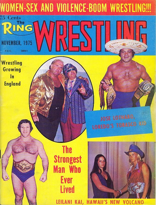 The Ring Wrestling - November 1975