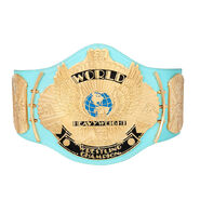 WWE Replica Blue Winged Eagle Championship Title Belt
