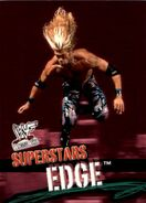2001 WWF WrestleMania (Fleer) Edge 21