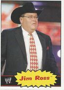 2012 WWE Heritage Trading Cards Jim Ross 49