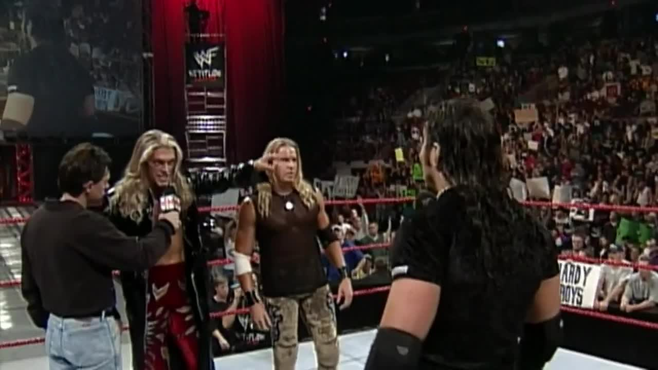 Edge and Chistian vs. Hardy Boyz