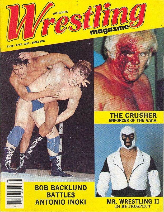 The Ring Wrestling - April 1981