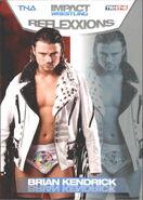 2012 TNA Impact Wrestling Reflexxions Trading Cards (Tristar) Brian Kendrick 58