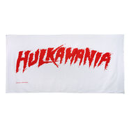Hulk Hogan Hulkamania Beach Towel