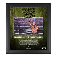 Tommaso Ciampa NXT WarGames 2020 15x17 Commemorative Plaque