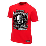 Triple H Crimson King Red Authentic T-Shirt