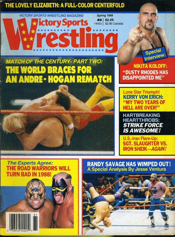 Victory Sports Wrestling - Spring 1988