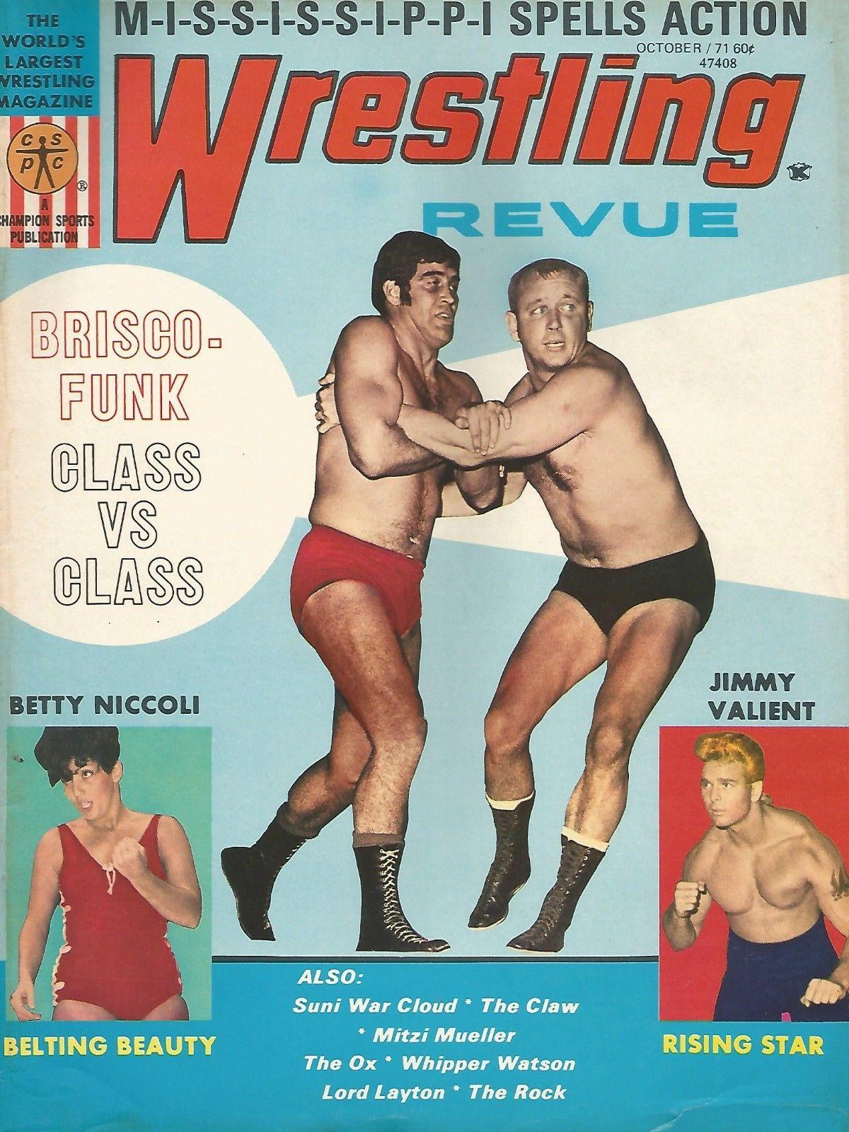 Wrestling Revue - October 1971