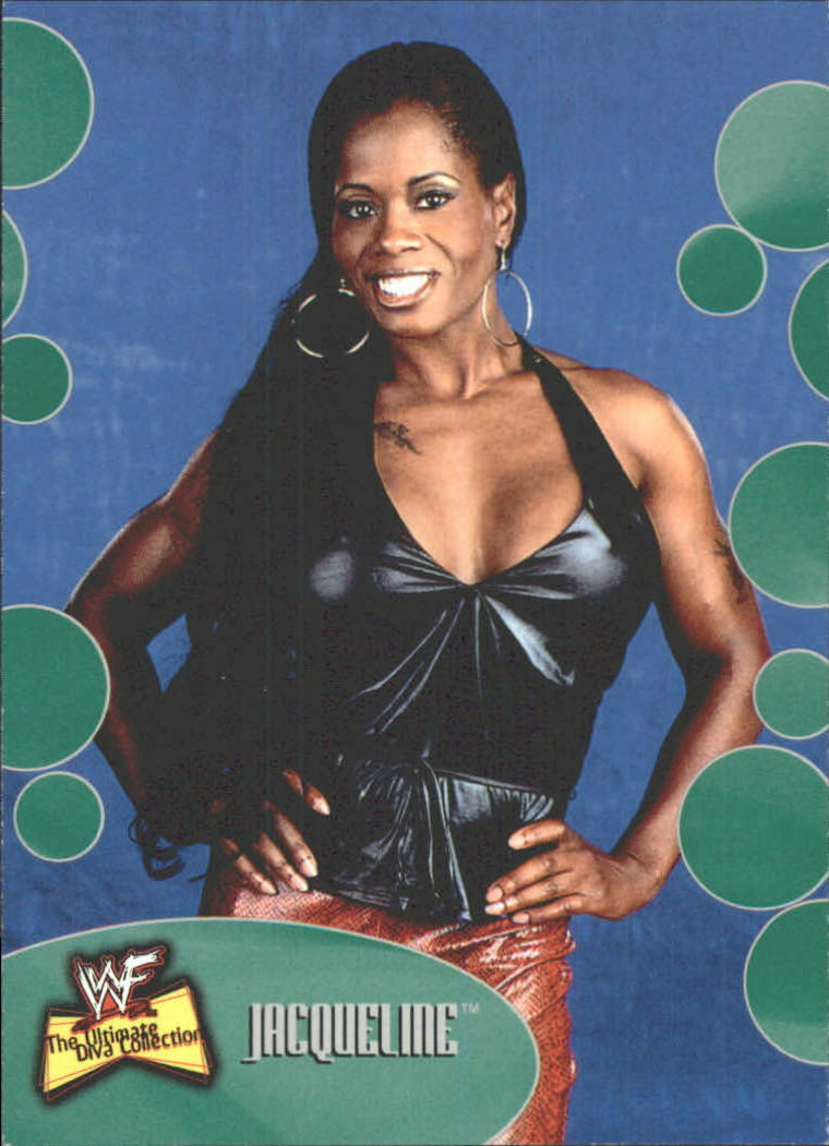 2001 WWF The Ultimate Diva Collection (Fleer) Jacqueline (No.46)