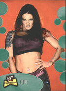 2001 WWF The Ultimate Diva Collection (Fleer) Lita 47