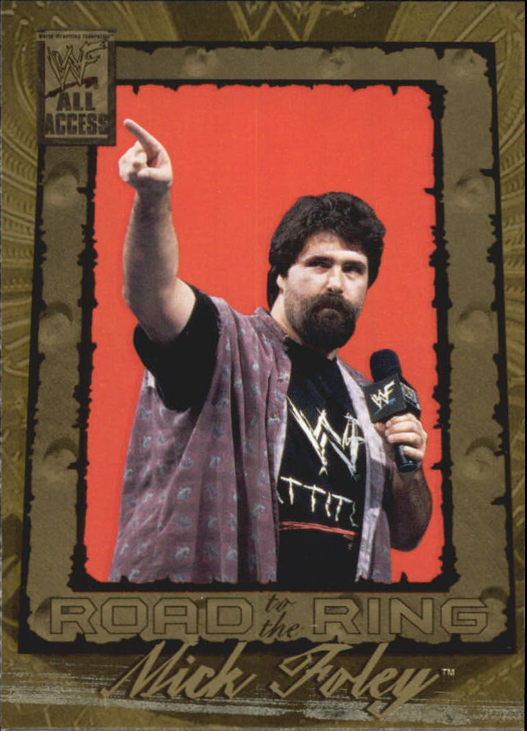 2002 WWF All Access (Fleer) Mick Foley (No.98)